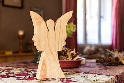 Deko-Engel im Minneken Hus